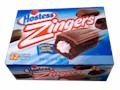 Hostess Zingers Iced Chocolate Snack Cakes