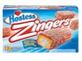 Hostess Zingers Raspberry Iced Snack Cakes