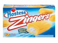 Hostess Zingers Iced Vanilla Snack Cakes